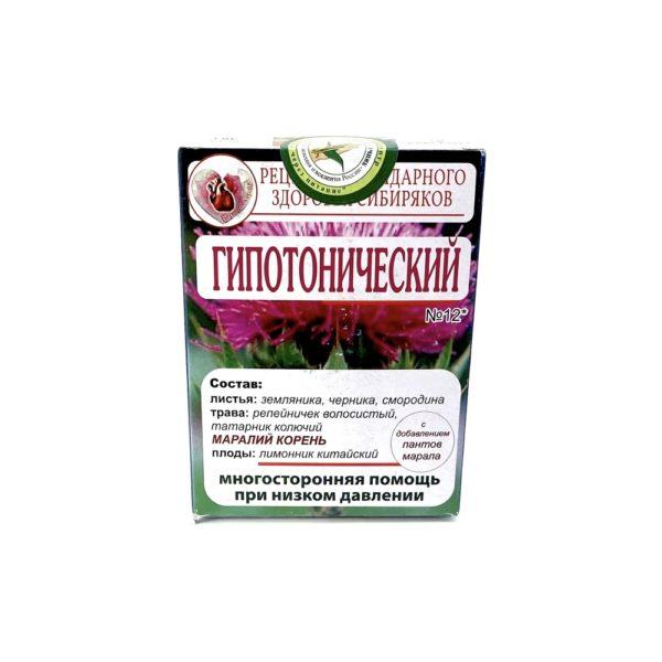 Чай №12 Гипотонический