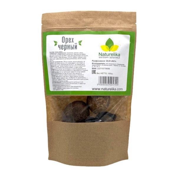 Орех чёрный (плоды)